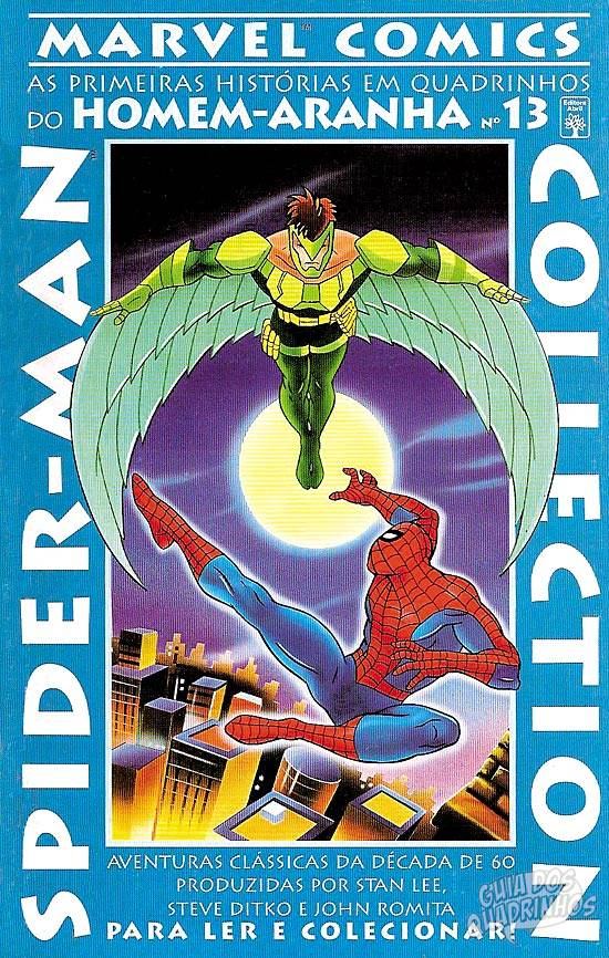 Capa Spider-Man Collection 13