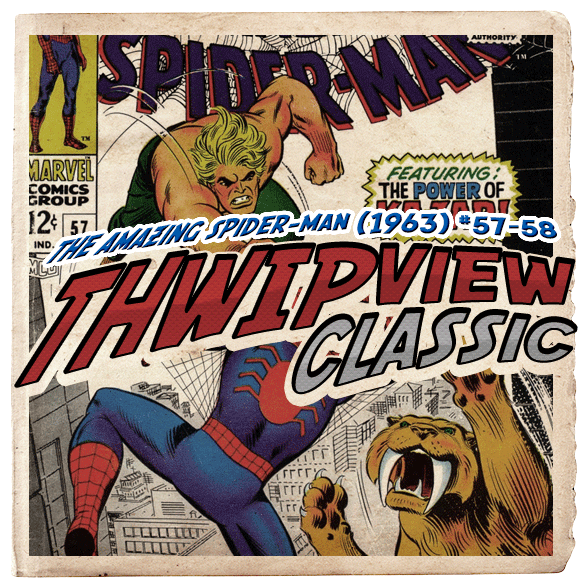 Thwip View Classic 060 - The Amazing Spider-Man (1963) #57-58