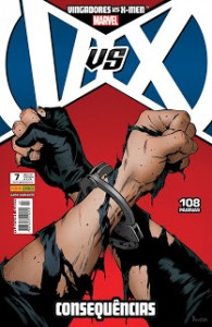 VINGADORES VS. X-MEN 7 - VARIANTE