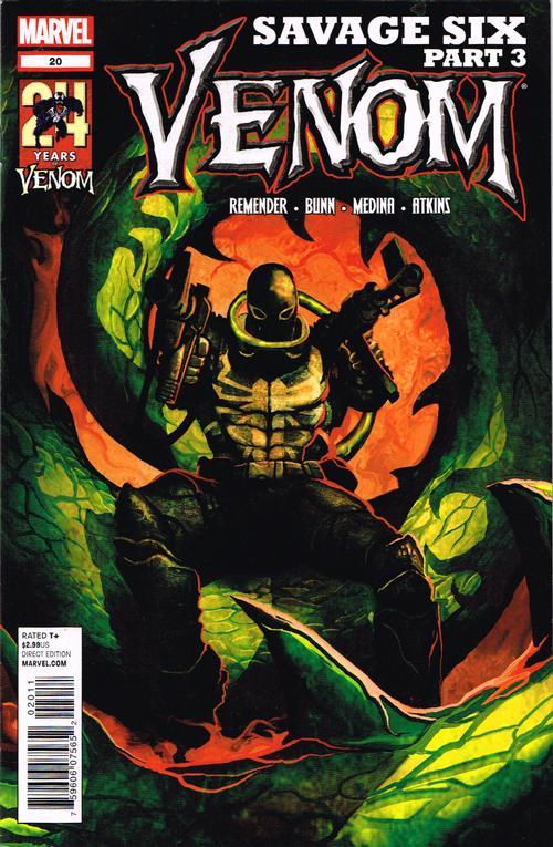 Capa - Venom 20