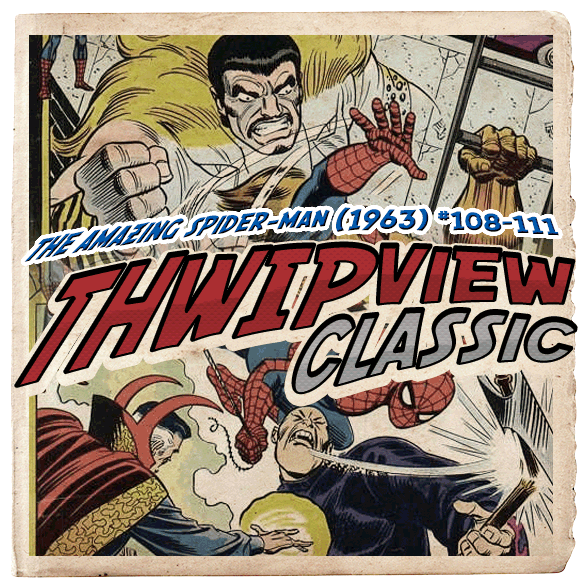 Thwip View Classic 085 - The Amazing Spider-Man (1963) #108-111
