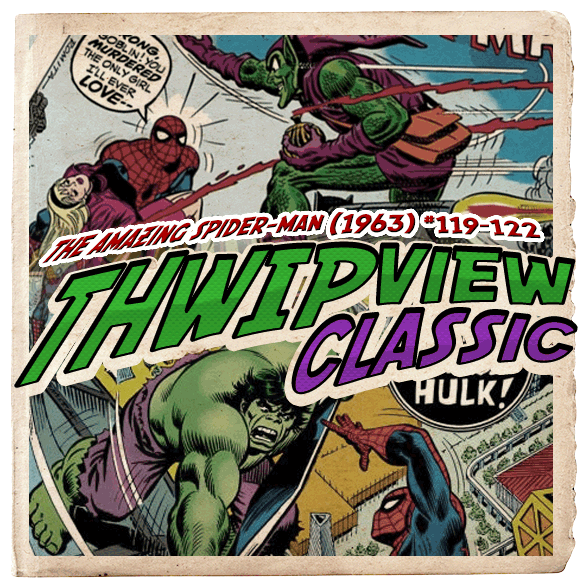 Thwip View Classic 090 - The Amazing Spider-Man (1963) #119-122