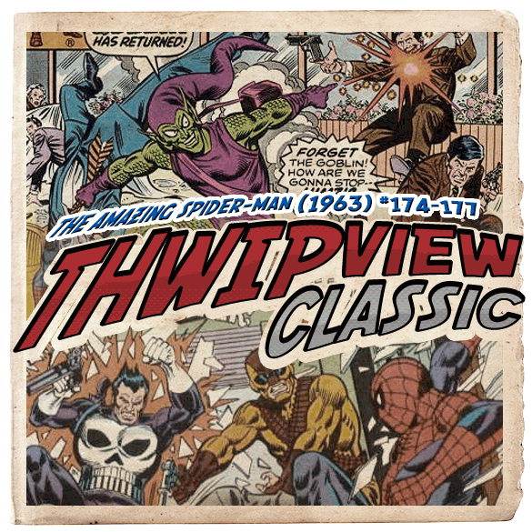 Thwip View Classic 128 - The Amazing Spider-Man (1963) #174-177