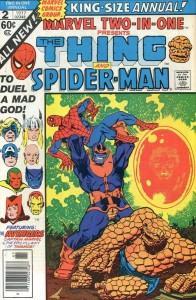 Capa de uma das muitas edições em que o Homem-Aranha, ainda nos anos 70, age como um verdadeiro herói e é respeitado pelos outros como merecia.