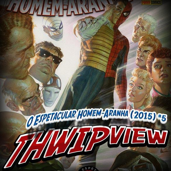 Thwip View 112 - O Espetacular Homem-Aranha (2015) #5