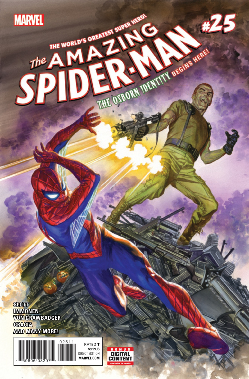 Capa - Amazing Spider-Man (2015) #25a