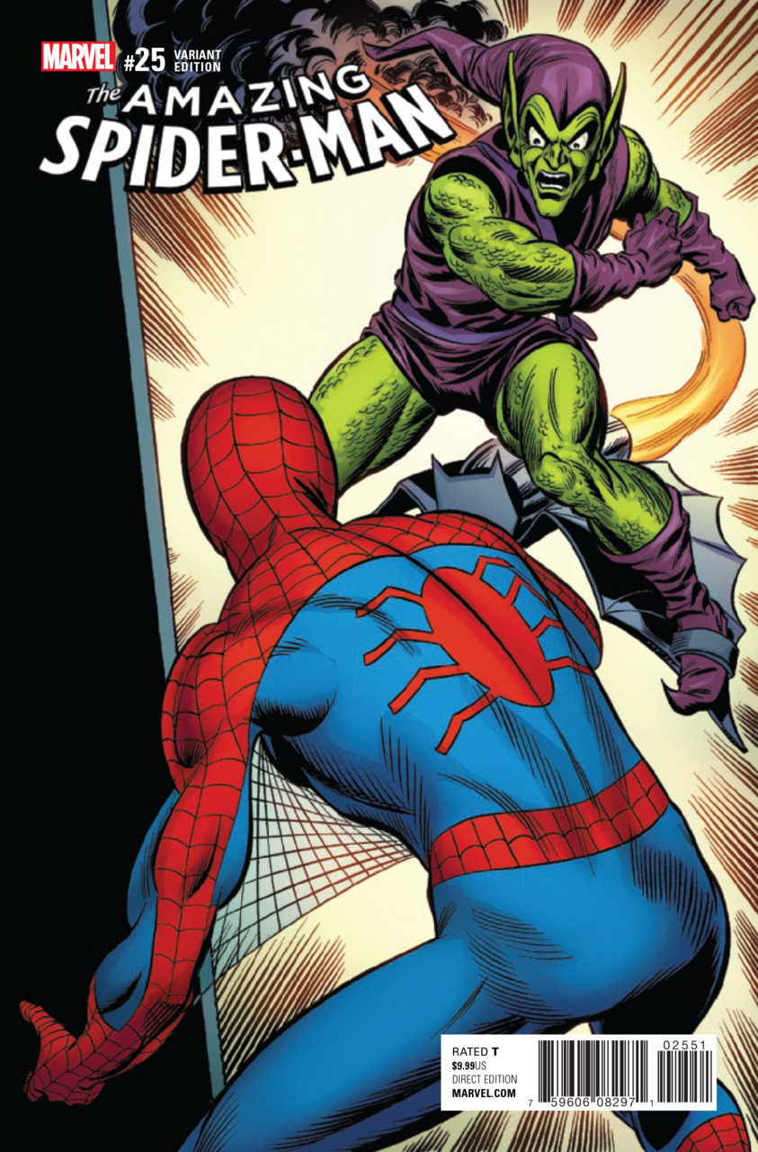 Capa - Amazing Spider-Man (2015) #25f