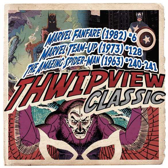 Thwip View Classic 214 Marvel Fanfare 1982 6 Marvel