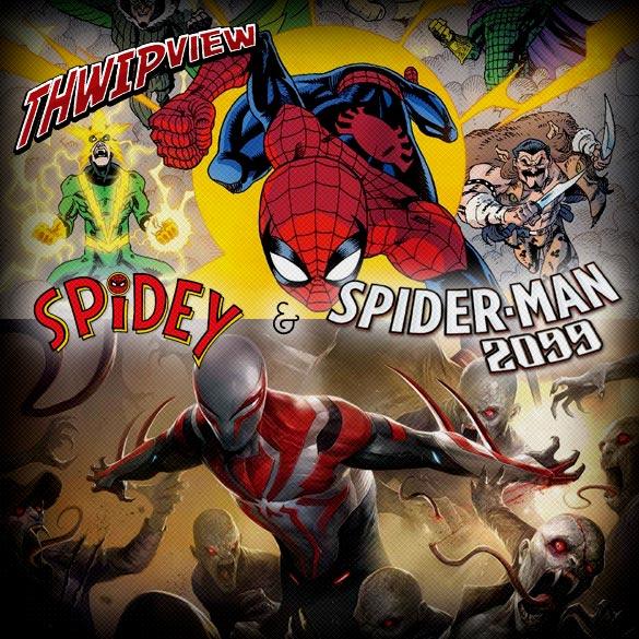 Thwip View 206 - Spidey & Spider-Man 2099