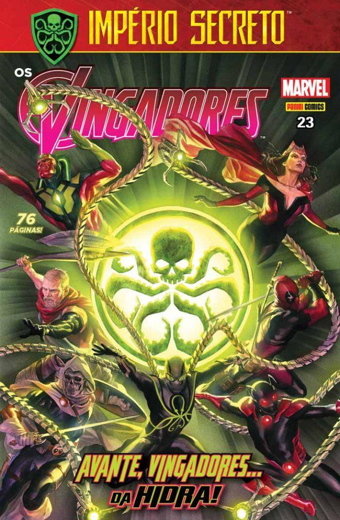 Capa - Vingadores 023 - Panini