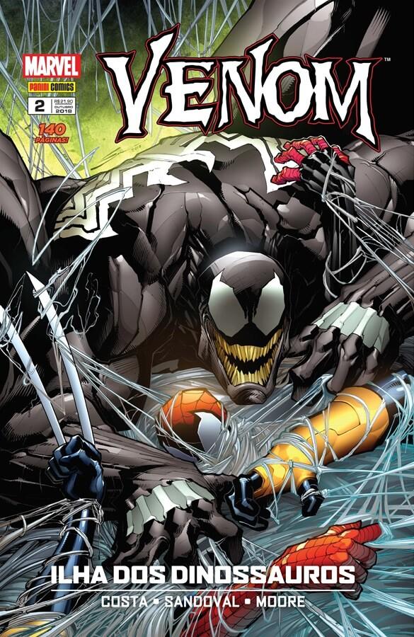 Capa - Venom 002 - Panini
